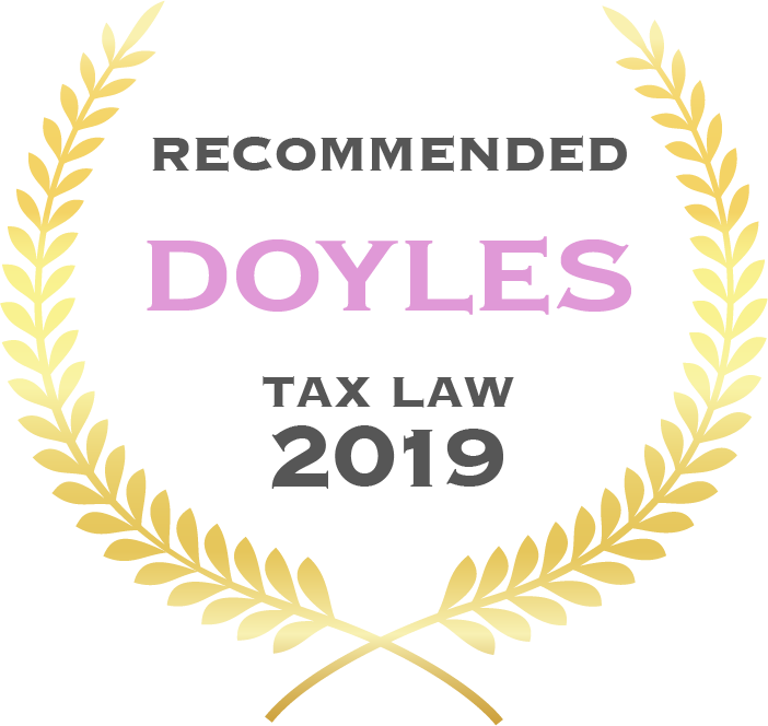 Recommended as a tax firm by Doyles Guide 2019